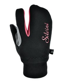 SILVINI dětské rukavice TEXEL CA743 black-punch
