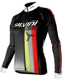 SILVINI dámský zateplený dres TEAM WD834 black