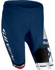 SILVINI dámské cyklistické kalhoty pas TEAM WP840 navy