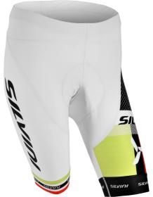 SILVINI dámské cyklistické kalhoty pas TEAM WP840 white