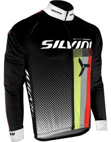 SILVINI pánské zateplený dres TEAM MD833 black