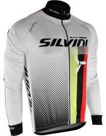 SILVINI pánské zateplený dres TEAM MD833 white