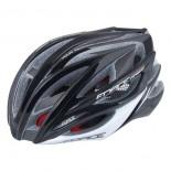FORCE cyklo helma ARIES karbon  černo-šedá