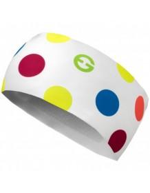 ELEVEN čelenka HB DOLOMITI Dots Color white d7b5f39536
