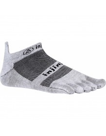 INJINJI prstové ponožky RUN COOLMAX NO-SHOW - šedá