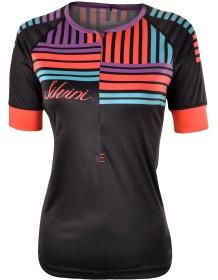 SILVINI dámský cyklistický dres STABINA WD1004 black