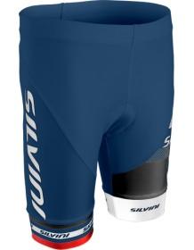 SILVINI dětské cyklistické kalhoty TEAM CP843K blue