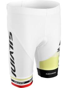 SILVINI dětské cyklistické kalhoty TEAM CP843K white