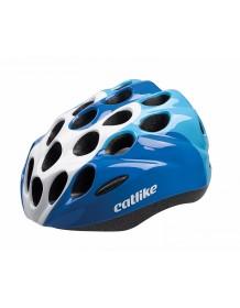 CATLIKE dětská cyklo helma KITTEN R007 blue-white