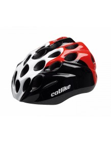 CATLIKE dětská cyklo helma KITTEN R001 black-white