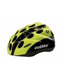 CATLIKE dětská cyklo helma KITTEN R011 black-neon