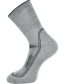 SILVINI ponožky merino LATTARI UA904 black-charcoal