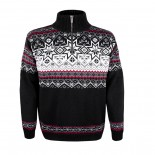 KAMA svetr bez podšívky 4071 - černý