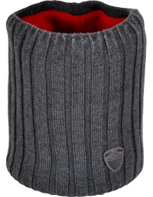 SILVINI pletený nákrčník TOLFA UA1136 charcoal-red