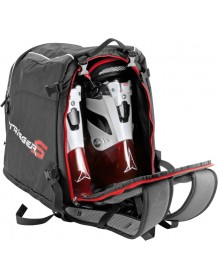 LEKI batoh Ski Boot 55 litrů red-black