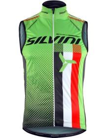 SILVINI pánská vesta TEAM MJ818 green
