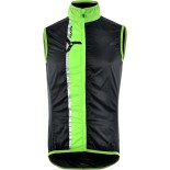 SILVINI pánská vesta GARCIA MJ803 black-green