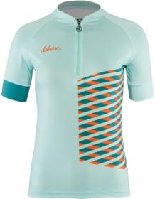 SILVINI dámský cyklistický dres SABATINI WD1207 turquoise-orange