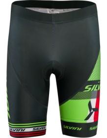 SILVINI dětské cyklistické kalhoty TEAM CP843K green