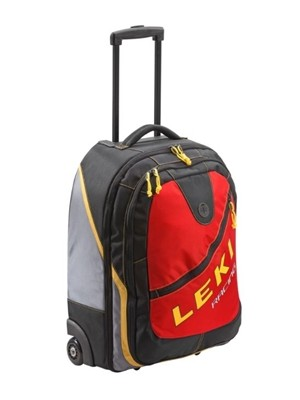 LEKI cestovní taška Business Trolley 50l  red new generation