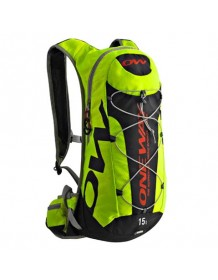 ONE WAY HYDRO BACKPACK 15L black-yellow