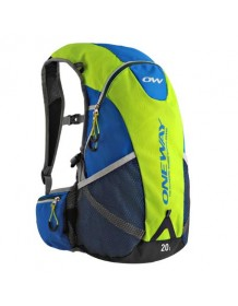 ONE WAY HYDRO BACKPACK 20L yellow-blue