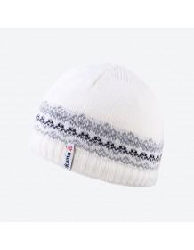 KAMA dětská pletená čepice B76 - šedá