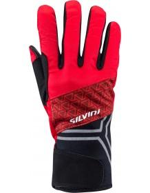 5894b5f33bf SILVINI pánské rukavice softshell ARNO UA1307 red-merlot