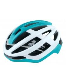 FORCE cyklo helma LYNX bílo-tyrkysová