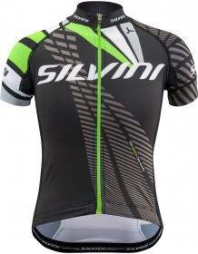 SILVINI dětský cyklistický dres TEAM CD1435 black-green