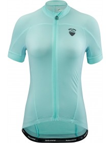 SILVINI dámský cyklistický dres BORMIDA WD1427 turquoise