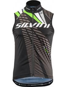 SILVINI pánská vesta TEAM MJ1404 black-green