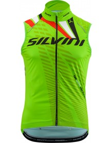 SILVINI pánská vesta TEAM MJ1404 green-red