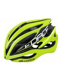 FORCE cyklo helma SAURUS fluo-černá