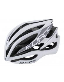 FORCE cyklo helma SAURUS bílá
