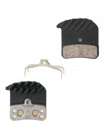 SHM640/820 kovové,destičky brzdové s pružinou + chladič