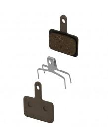 SHIMANO BRM515 polymerové, destičky brzdové s pružinou