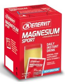 ENERVIT Magnesio Potassio 10x15 g - pomeranč