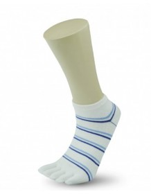 MANTA prstové ponožky dámské white/blue