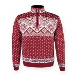 KAMA svetr bez podšívky 4082 - červený