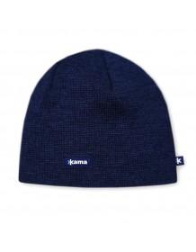 KAMA pletená čepice A02 - modrá
