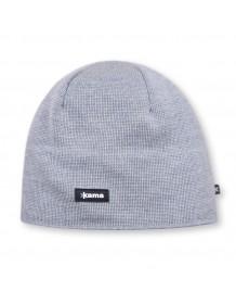 KAMA pletená čepice A02 - šedá
