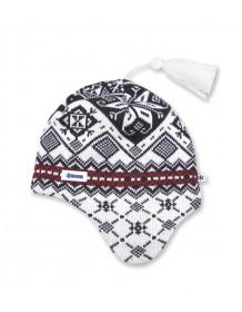 KAMA pletená čepice A74 - bílá