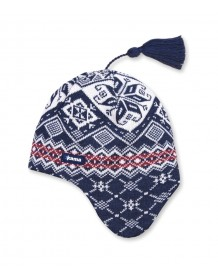 KAMA pletená čepice A74 - modrá