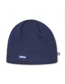 KAMA pletená čepice Windstopper Soft Shell AW19 - modrá