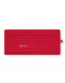 KAMA pletená čelenka C36 - červená