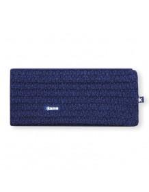 KAMA pletená čelenka C36 - modrá
