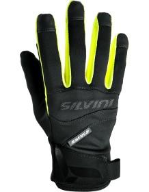 SILVINI UNI rukavice soft-shell FUSARO UA745 black-neon
