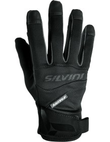 SILVINI UNI rukavice soft-shell FUSARO UA745 black