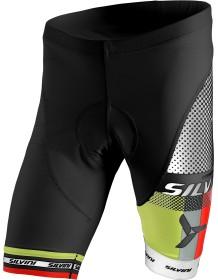 SILVINI pánské cyklistické kalhoty pas TEAM MP838 black